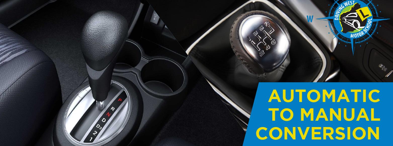 Auto to Manual Conversion